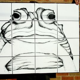 Fat Frog Ode to Diego Rivera 6