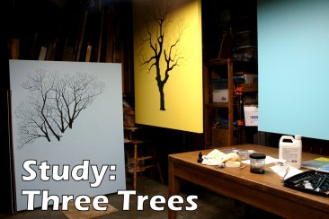 1. Study - Three Trees. 2018.